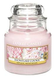 snowflake cookie this has to be the best smelling yankee candle