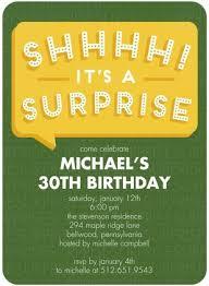 surprise birthday invitation wording cimvitation