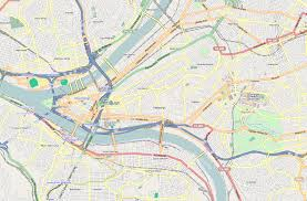 University Of Pittsburgh Map Location Of Pittsburgh In Usa Map Indoor Water In New York Indoor