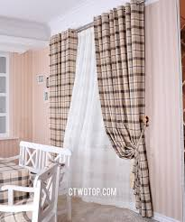 Black And White Buffalo Check Curtains Outstanding Black And White Checkered Kitchen Curtains Including