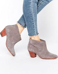 hudson womens boots sale hudson kivar grey suede ankle boots h by hudson