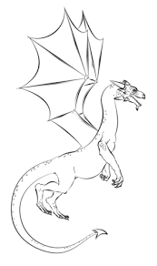 realistic dragon coloring free printable coloring pages