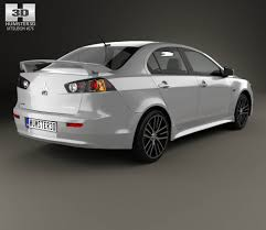 mitsubishi lancer drawing mitsubishi lancer gt 2016 3d model hum3d