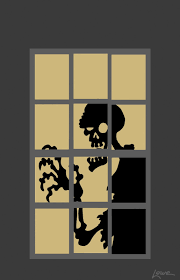 halloween silhouette templates dave lowe design the blog 63 days u0027til halloween zombie window