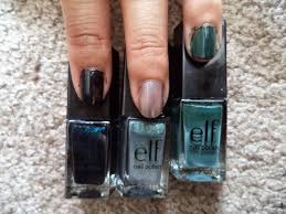 review e l f essential 14 piece nail cube makeup with a heart