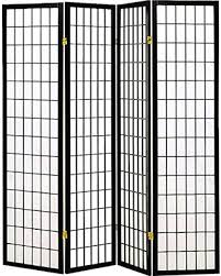 Privacy Screen Room Divider Don U0027t Miss This Deal Coaster Home Furnishings Oriental Shoji 4