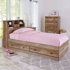 Storage Bed Better Homes And Gardens Crossmill Mates Twin Bed With Storage