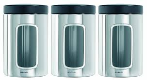 kitchen tea coffee sugar canisters brabantia roll top bread bin canister kitchen storage tea coffee