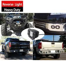 led lights for pickup trucks house tuning cree 20w diffused flood backup led light bumper mount
