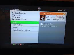 Xbox Live Meme - strange message on xbox live xbox360