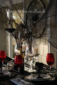 Halloween Decoration Ideas For Party by 180 Best Halloween Tablescapes Images On Pinterest Halloween