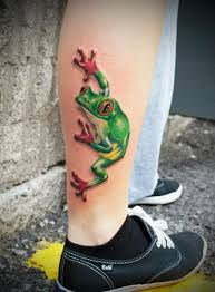 eyed tree frog by larry still my