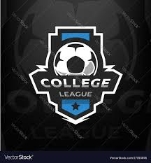 football logo template royalty free vector image