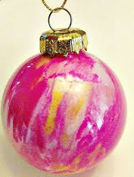 diy swirl paint glass ornaments ornament glass and craft