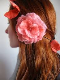 felt hair felt wedding accessories by crafts2cherish junebug weddings