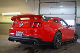 2014 mustang rear plus rear spoiler for 2010 2014 mustang 302 and shelby
