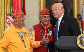 donald macdonald trump u0027s u0027pocahontas u0027 jab at navajo event draws blowback boston
