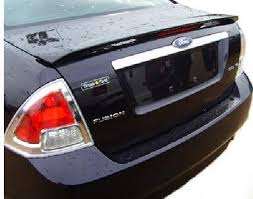 amazon com accent spoilers ford fusion factory style spoiler dark