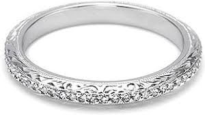 tacori wedding bands tacori pave diamond engraved wedding band ht2339b1