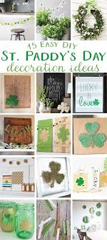 s day decoration 15 easy diy st paddy s day decoration ideas by lindi haws of