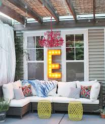Cheap Outdoor Curtains For Patio 36 U201d Letter E Lighted Vintage Marquee Letters Rustic Ambient