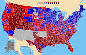 2016 Presidential Map File 1896 United States Presidential Election County Map Png