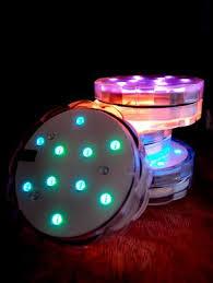 submersible led lights wholesale submersible led waterproof floral flower vase light base discs w