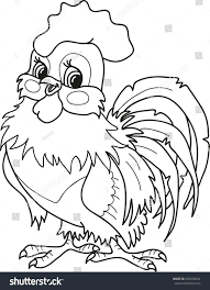 coloring page outline cartoon smiling stock vector 659258434