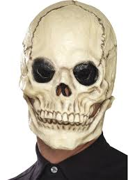 halloween skeleton mask smiffys skull mask wigs u0026 accessories from play and party uk