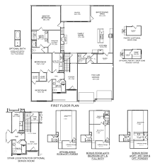 Bar Floor Plans by New Floor Plan The Glenstone