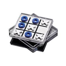 Magnetic Business Card Holder Jade Acrylic Tic Tac Toe Game Business Card Holder Usimprints