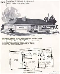 1950s ranch style home plans house design plans