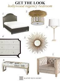 hollywood regency bedroom get the look hollywood regency bedroom kathy kuo blog kathy kuo