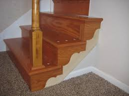 Is Installing Laminate Flooring Easy Laminate Flooring And Wooden Railing At Modern Interior Decor