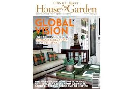 Home Design Magazines South Africa Condé Nast House U0026 Garden Page 3 Of 44 South Africa U0027s Finest