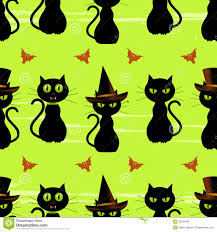 background halloween images halloween black cat seamless background royalty free stock photos