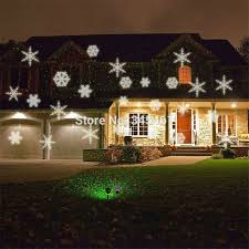 christmas projection lights lights white snow sparkling landscape projector outdoor
