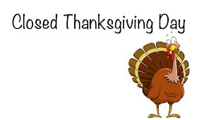 closed for thanksgiving clipart clipartxtras