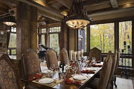 Rustic Dining Room Decorating Ideas by Cute Rustic Dining Rooms 55 Regarding Small Home Decoration Ideas