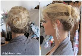 goody com how to create a messy bun with goody spin pins dutchess roz
