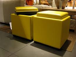 ottomans yellow tufted ottoman yellow bedroom bench yellow pouf