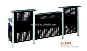 Reception Desk Black by Glass Top Reception Desk Glass Top Reception Desk Suppliers And