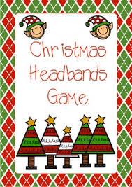 christmas headbands christmas headbands freebie cards by fraser tpt