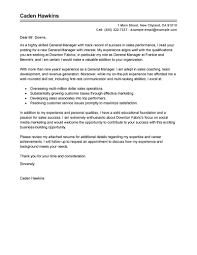 effective resume cover letter bunch ideas of resume cover letter general manager on example best solutions of resume cover letter general manager for description