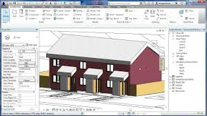 House Design Software Name Revit Tutorials Terraced Houses Design 6 Revit Architecture