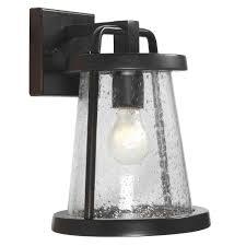 home depot lantern lights gale 1 light black outdoor wall lantern outdoor wall lantern