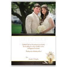 wedding photo thank you cards photo optional wedding thank you card jars string lights