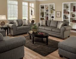Contemporary Sofa With Casual Design Style  By American - American furniture living room sets