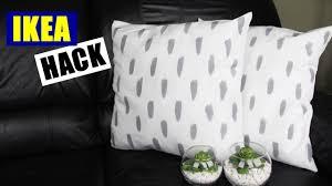 Ikea Throw Pillows by Diy Ikea Hack Easy Diy Pillows Cheap And Easy Diy Throw Pillow