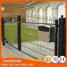 Modern Fence by Professional Manufacturer Modern Fence Gate Fence Design Buy